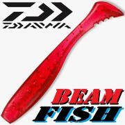 Daiwa Tournament Beam Fish Gummifish 1,8 - 4,6cm Clear Red 10 Stück im Set!