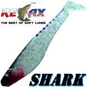 Relax Shark Gummifisch 4 10cm Kristall Glitter Schwarz