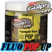 Berkley Gulp! Carp Fluo Pop Ups 100g 16mm Pineapple Fever Karpfenköder Floating Boilie