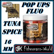Berkley Gulp! Carp Pop Ups Fluo 100 g / 16 mm / Tuna & Spice