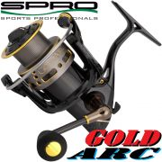 Spro Gold Arc Stationärrolle 10300 306g 9+1 Lager 150m/0,28mm 5,0:1 Spinnrolle