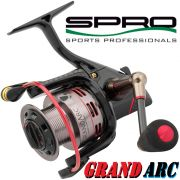 Spro Grand Arc 8100 Stätionärrolle 266g 7+1 Lager 100m/0,24mm Spinnrolle