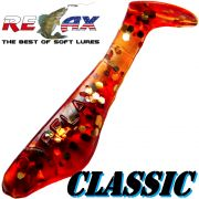 Relax Kopyto Classic  Gummifisch 3,5cm Amber
