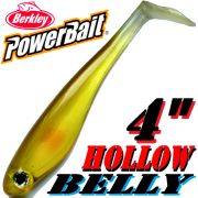 Berkley Hollow Belly Gummifisch Swimbait 10cm Ayu 3 Stück im Set