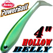 Berkley Hollow Belly Gummifisch Swimbait 10cm Blueback Herring 3 Stück im Set