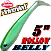 Berkley Hollow Belly Gummifisch Swimbait 12,5cm Blueback Herring 3 Stück im Set