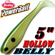 Berkley Hollow Belly Gummifisch Swimbait 12,5cm Tenesee Shad 3 Stück im Set