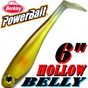 Berkley Power Bait Hollow Belly Gummifisch Swimbait 15 cm Ayu 3 Stück im Set!