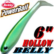 Berkley Hollow Belly Gummifisch Swimbait 15 cm Blueback Herring 3 Stück im Set