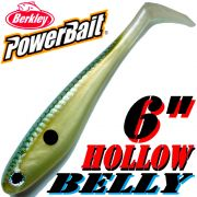 Berkley Hollow Belly Gummifisch Swimbait 15cm Gizzard Shad 3 Stück im Set