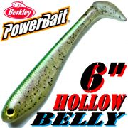 Berkley Hollow Belly Gummifisch Swimbait 15cm Trout 3 Stück im Set