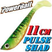 Berkley Power Bait Pulse Shad Gummifisch 11cm Firetiger