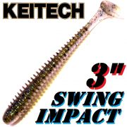 Keitech Swing Impact 3 Gummifisch 7,5cm Bluegill 10 Stück