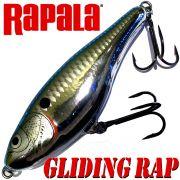 Rapala Glidin Rap Jerkbait 12cm 50g Chrome Blue slow sinking