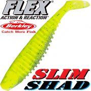 Berkley Flex Slim Shad 6 Gummifisch 15cm Lime