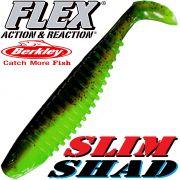 Berkley Flex Slim Shad 6 Gummifisch 15cm Breen Chartreuse