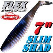 Berkley Flex Slim Shad 7 Gummifisch 18cm Rainbow