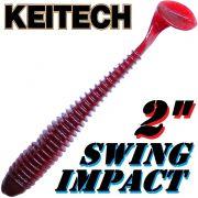 Keitech Swing Impact 2 Gummifisch 5,5cm Cola 12 Stück