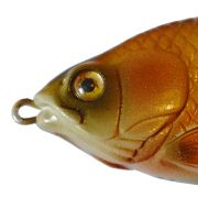 Lena Lures HiBack Shad Jerkbait 110mm 45g Farbe Natural Gold Slow Sinking Handmade in Germany!