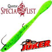 Quantum Specialist Joker M Lure Gummifisch 12cm 4g Baby Bass 3 Stück im Set