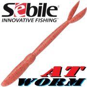 Sebile AT Worm Floating Gummiwurm 126mm 6g Farbe SP92 8 Stück im Set All Terrain Köder