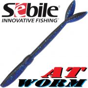 Sebile AT Worm Sinking Gummiwurm 152mm 8,7g Farbe SP63 8 Stück im Set All Terrain Köder