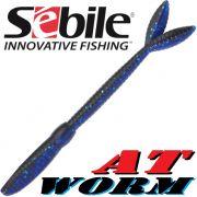Sebile AT Worm Sinking Gummiwurm 178mm 15g Farbe SP63 6 Stück im Set All Terrain Köder