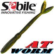 Sebile AT Worm Sinking Gummiwurm 178mm 15g Farbe SP64 6 Stück im Set All Terrain Köder