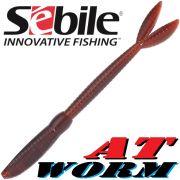 Sebile AT Worm Sinking Gummiwurm 178mm 15g Farbe SP70 6 Stück im Set All Terrain Köder