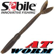 Sebile AT Worm Sinking Gummiwurm 178mm 15g Farbe SP71 6 Stück im Set All Terrain Köder
