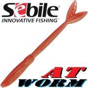 Sebile AT Worm Sinking Gummiwurm 178mm 15g Farbe SP53 6 Stück im Set All Terrain Köder