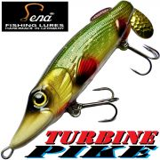 Lena Lures Turbine Pike 120mm 45g Farbe Natural Juvenile Slow Sinking 100% Handmade in Germany