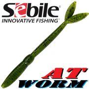 Sebile AT Worm Floating Gummiwurm 126mm 6g Farbe SP93 8 Stück im Set All Terrain Köder