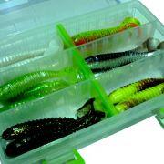 Gerätebox - Köderbox Angelbox 20,5 x 13,5 x 3,8cm Köderkiste 100% Kunstköderresistent 2 Stück im Set