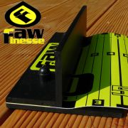 RawFinesse The Scale Measuring Tool Maßband 20cmX145cm in Zentimeterschritten Farbe Yellow
