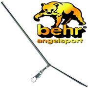 Behr Anti Tangle Chrome Abstandhalter ca. 20cm mit Wirbel & Snap ideal für Laufmontagen 3Stück im Set
