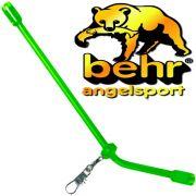 Behr Anti Tangle Green Abstandhalter ca. 20cm mit Wirbel & Snap ideal für Laufmontagen 3 Stück im Set