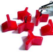Behr Hakenschutz für Drillingshaken Größe M ideal für Wobbler und Jerkbaits10 Stück im Set