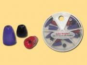 Painted Bullet Weights - Blei - 18 Teile