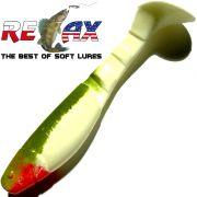Relax Kopyto Classic 4L 4 Gummifisch 11cm Reinweiss Olive