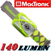 MacTronic HLS NL1 G Kopflampe 140 Lumen Weißlicht + LED Grün & LED Rot
