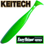 Keitech Easy Shiner 5 Gummifisch Lime Chartreuse 5 Stück