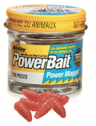 Berkley Power Bait - Micro Power Maggots / Red / ca. 110 Stück