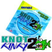 Aquateko Knot 2 Kinky Singel Strand Titanium Wire Leader Titaniumvorfach 35lbs 16kg 4,6m für Hechtvorfächer
