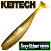 Keitech Easy Shiner 5 12,5cm Gummifisch mit Aroma Farbe Arkansas Shiner 5 Stück im Set Zanderköder
