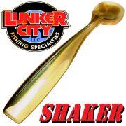 Lunker City Shaker 4,5 - ca. 12cm Gummifisch Farbe Arkansas Shiner 8 Stück im Set Hecht & Zanderköder