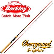 Berkley Cherrywood HD Spin 272 Spinnrute 2,70m WFG 7-28g 210g Aktion M 24T HG Carbonblank