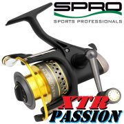 Spro Passion XTR 8400 Stationärrolle 309g 7+1 Lager 160m/0,33mm Spinnrolle