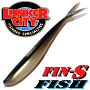 Lunker City Fin-S-Fish Gummifisch 5 -12,5cm Farbe Alewife No Action Shad Barsch & Zanderköder