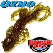 Lunker City Ozmo Creaturebait 5 ca. 12,5cm Farbe Watermelon Red Flake 7 Stück im Set Vario-DS-Köder
